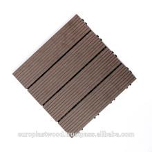 Деревянная пластичная составная плитка (ДПК плитки)