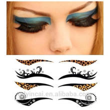 Custom OEM eyeliner stencil sticker tattoo on Face with agent price