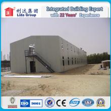 Casa modular del campo del trabajador del trabajo modular prefabricado del panel sándwich