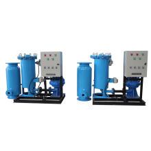 Sistema de limpieza de bolas en línea de condensador de la torre de enfriamiento