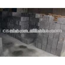 bloco de grafite de carbono