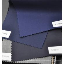 La tela cruzada del surtidor de China peinó el 70% de lana el 30% que hacía juego la tela del poliéster