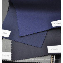 Comfortable wool polyester blended high quailty twill fabric for suit uniform