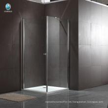 K-534 venta directa de la fábrica 304 de acero inoxidable con bisagras cuarto de baño cabina de ducha