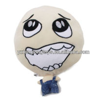 China wholesale big head cute plush doll soft doll with different expression