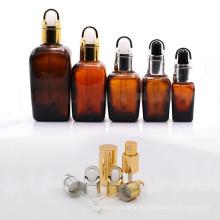Botella de lujo de la loción de cerámica y botella cosmética de cristal (NBG06)