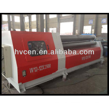 4 roll plate bending machine w12-12*2500,steel plate bending machine