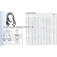 Australia Type Drop Forged Wire Rope Clip