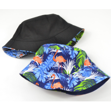 Reversible Druck Mode Frauen Bucket Hat