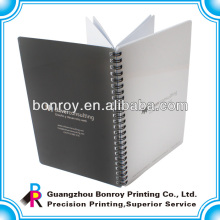 Klare PVC-Abdeckung Spirial Notebook
