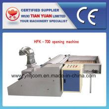 Máquina de abertura de fibra de estimação