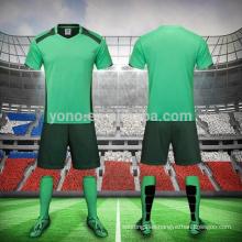 Los jerseys del jersey de fútbol del precio barato al por mayor Los hombres de calidad superior secan los jerseys del fútbol del jersey del fútbol de los hombres del ajuste seco