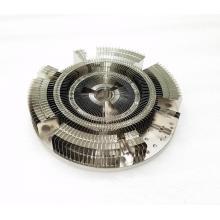 Disipador de calor LED redondo de 200W con aletas de aluminio