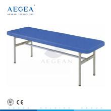 AG-ECC04 CE ISO plegable mesa de examen de acero médico hospital tablas clínicas