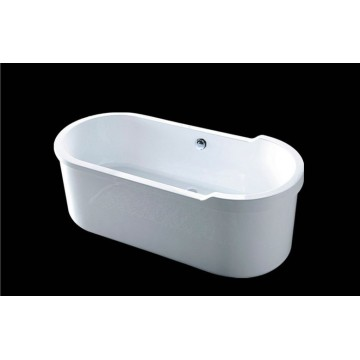 Best Quality Big Acrylic Freestanding Soaking Bath Tub