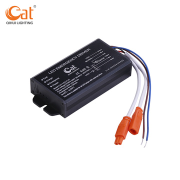 Li-ion battery backup emergency driver for led downlights