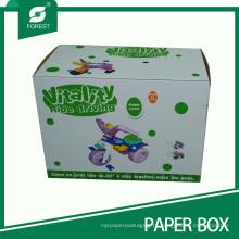 Офсетная печать Гофрировала картонные коробки для детского сиденья