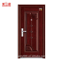 Stahl feuerfeste Türen verzögern Steinwolle-Eisen-materielles Blatt mit rostfreiem Verschluss