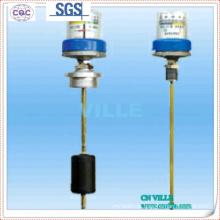 Indicador do nível do óleo do transformador; Indicador do nível do óleo do transformador; Indicador de temperatura do transformador