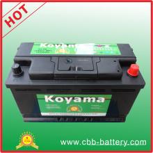 Bateria de carro padrão da bateria de carro de 12 K da Koyama USA 58827-Mf