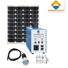 300W High Efficiency Photovoltaic Solar Home Power System