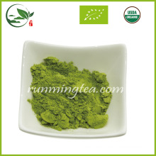 Polvo orgánico natural del té verde de Matcha de la primavera