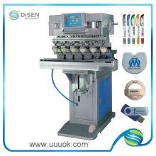 Máquina impresora de seis colores pad