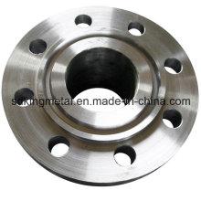 Flanges de aço forjado usinadas CNC