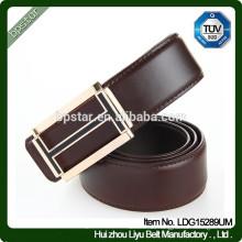 Neue Art- und Weiseentwurfs-formale echtes Leder-Metall-automatischer Wölbungs-Gurt für Geschäfts-Männer / cintos de couro cinto de couro para homen