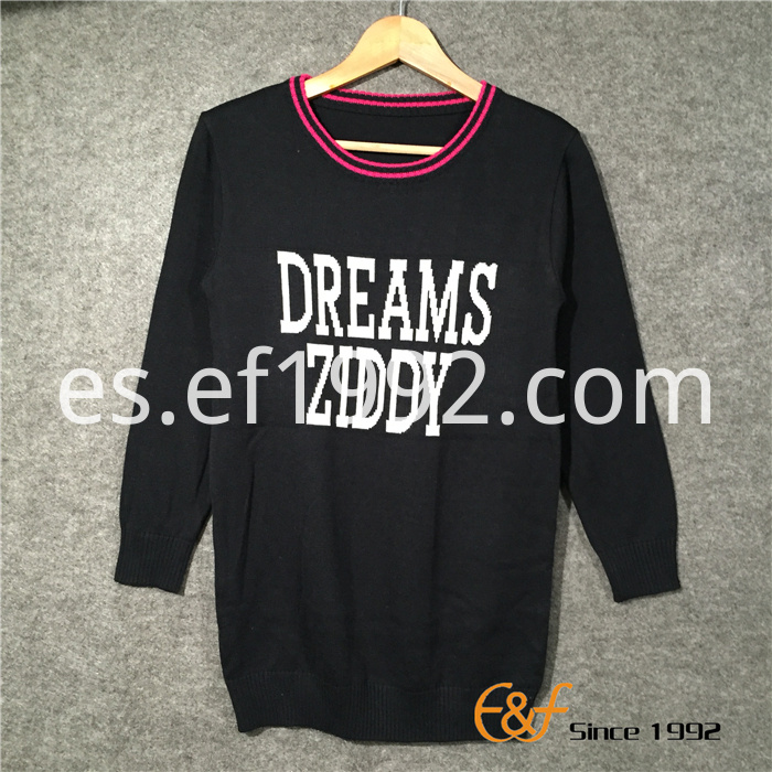 Women's Sports Casual Style Long Sweater