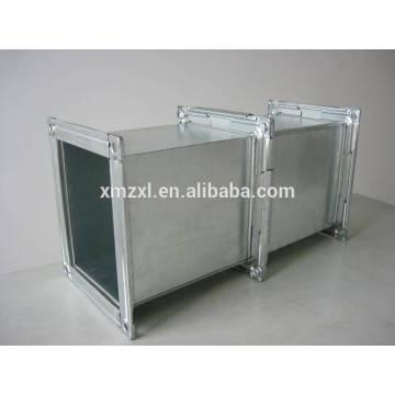 Galvanizado ar Duto Retangular para canalização de ar