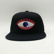 Beliebte Augen Muster Stickerei Günstige Hip Hop Cap (ACEK0063)