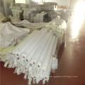 Tissu blanc de maille d'impression de sérigraphie de polyester