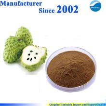Poudre d'extrait de fruit Graviola 100% naturel
