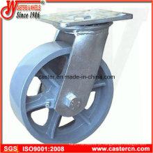 Rodas giratórias de ferro fundido de 4 polegadas a 8 polegadas