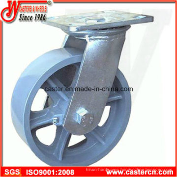 4 Inch to 8 Inch Cast Iron Swivel Casters