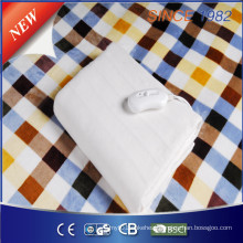 Factory Wholesale Cozy Synthetic Wool Electric Blanket with Certificate