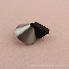 Bouchon de porte de conception pyramidale triangulaire triangulaire en acier inoxydable 304