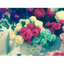 Modern Cheap Wedding Artificial Flowers Rose