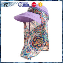 Vente directe en usine design simple chapeau extérieur soleil prix raisonnable