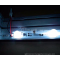 Customizable low temperature rise injection edge led module light