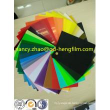 0,04mm-0,65mm Dicke der bedruckten PVC-Folie mit hochwertiger Qualität