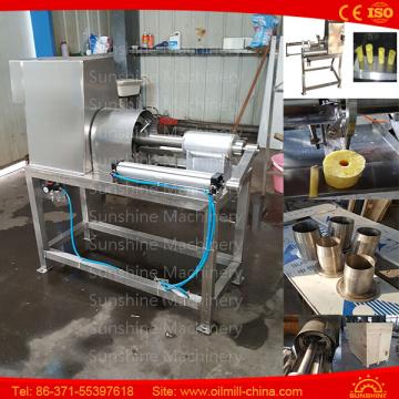 Edelstahl-Ananas-Schälmaschine Corer Peeler