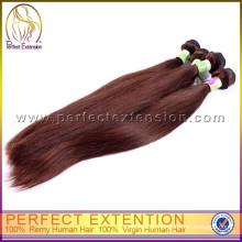 2015 году продукции девственной богемной Remy человеческих волос расширение