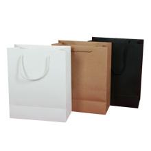 El regalo de la joyería del empaquetado de alimentos de la bolsa de papel de Brown Sos del modelo modifica el papel para requisitos particulares con la bolsa de papel de Kraft de la manija