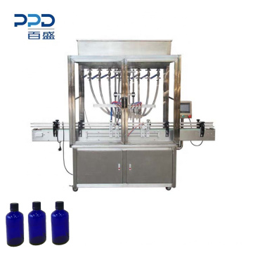 Automatic 8 head honey juice liquid water bottle filling machine glass bottle liquid wine filling machine