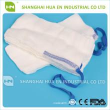 100% Baumwolle hochwertige Gaze Bauchschwämme CE ISO FDA in China hergestellt