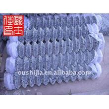 Clôture de la jonction de la jauge 9 et clôture de la liaison de la chaîne enrobée de poudre