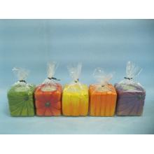 Artisanat en céramique en forme de chandelier de citrouille (LOE2366-5z)