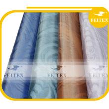 Готовые дешевые ткани черный дамасской shadda базен riche Гвинея brocade ткани для свадьбы 2015